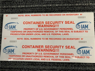 CONTAINER SECURITY SEAL