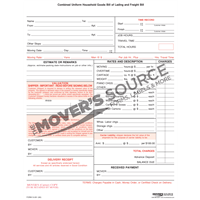 Goods Bill of Lading - .60 - Custom