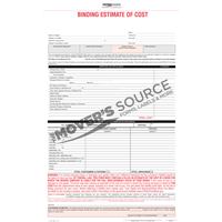 Binding Estimate of Cost